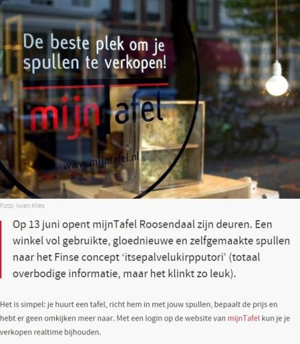 Nieuws opening mijnTafel Roosendaal